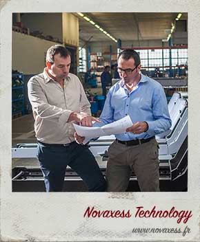 Novaxess Technology, site internet